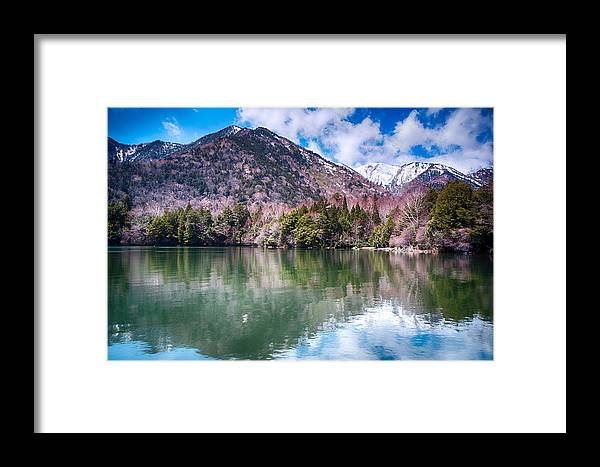 Japan Framed Print featuring the photograph Lake Yunoko by Jonah Anderson