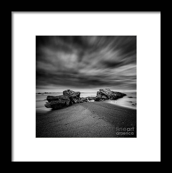 Rocks Framed Print featuring the photograph Lalush Beast by James A Crawford