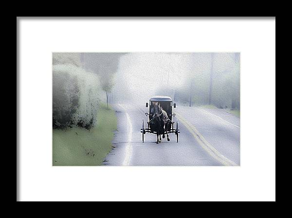Lancaster County Pennsylvania Framed Print featuring the photograph Lancaster County Pennsylvania by Bill Cannon