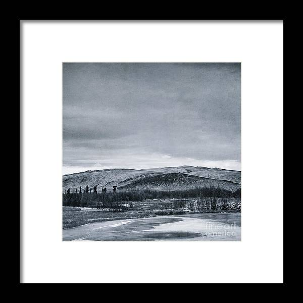 Mountain Framed Print featuring the photograph Land Shapes 11 by Priska Wettstein