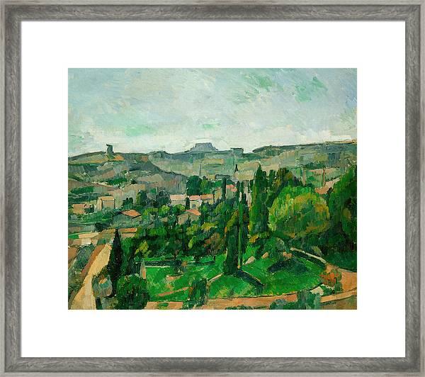 Cezanne Landscape Print
