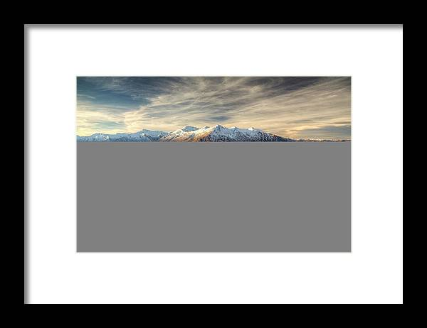Tranquility Framed Print featuring the photograph Landscape Of Wanaka by Joao Inacio