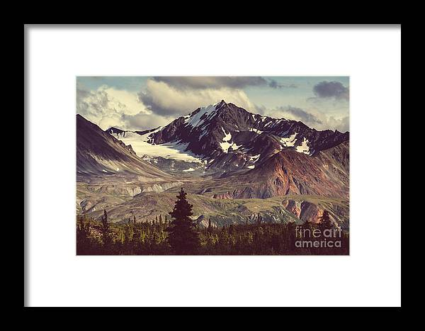 Pond Framed Print featuring the photograph Landscapes On Denali Highway.alaska by Galyna Andrushko