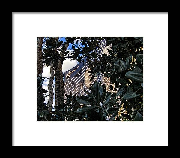 Las Vegas Framed Print featuring the photograph Las Vegas - Wynn Hotel by Jon Berghoff