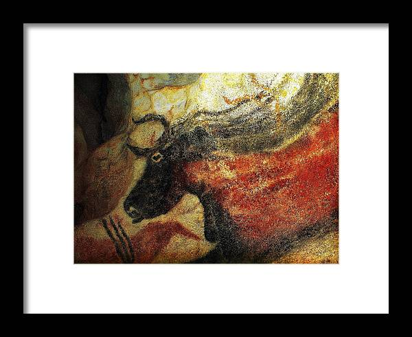Lascaux Ii Framed Print featuring the photograph Lascaux II Number 2 - Horizontal by Jacqueline M Lewis