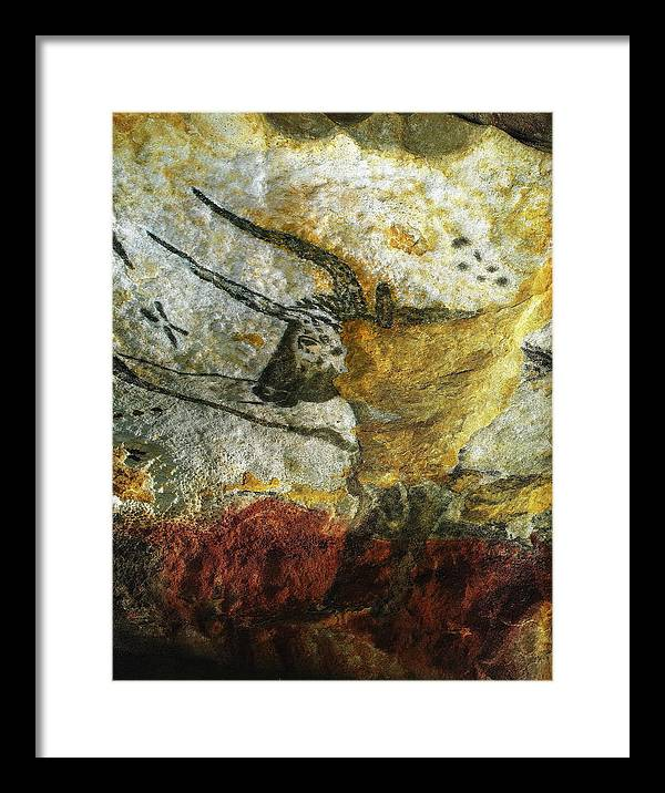 Lascaux Ii Framed Print featuring the photograph Lascaux II Number 3 - Vertical by Jacqueline M Lewis