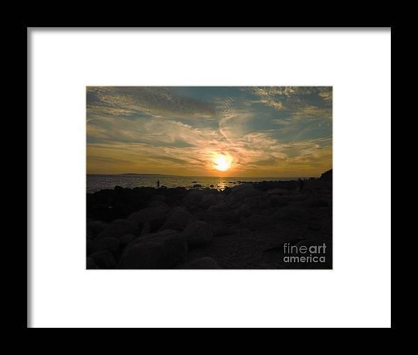 Sun Framed Print featuring the photograph Last Hurrah by Britta Havens