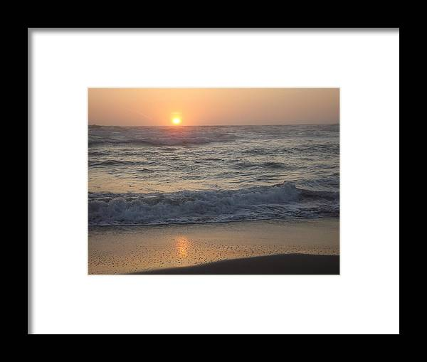Framed Print featuring the photograph Last Light by Randy Esson