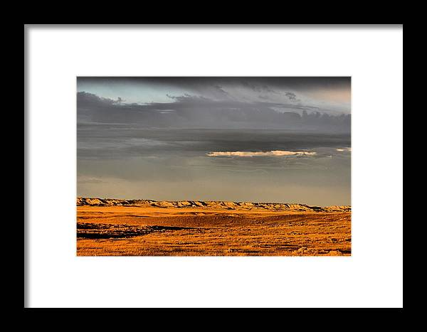 Montana Framed Print featuring the photograph Late Afternoon Sun by Scott Carlton