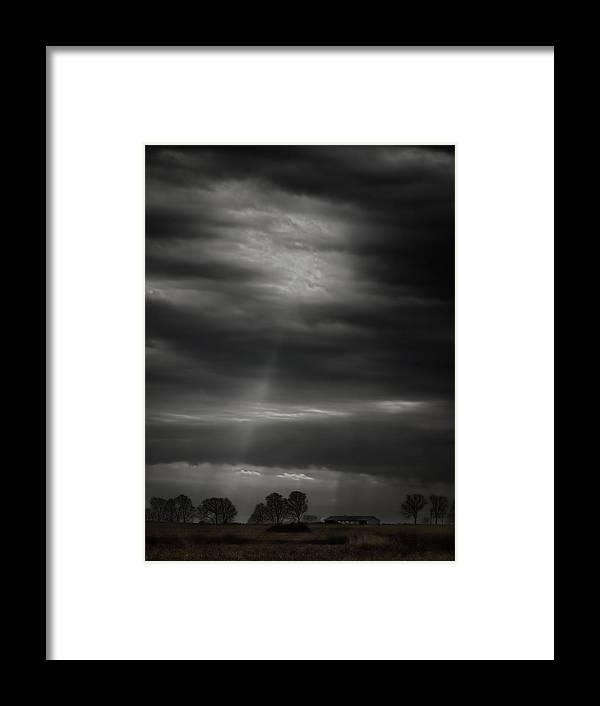 Farm Framed Print featuring the photograph Late Autumn Farmland by Thomas Young