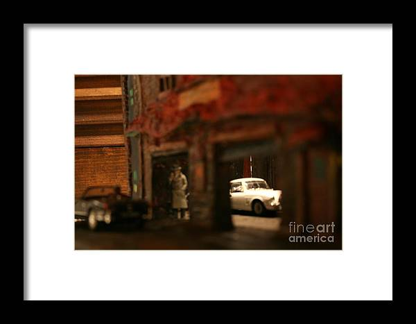 Classic Cars Framed Print featuring the photograph Late Evening Pick-up by William Bezik