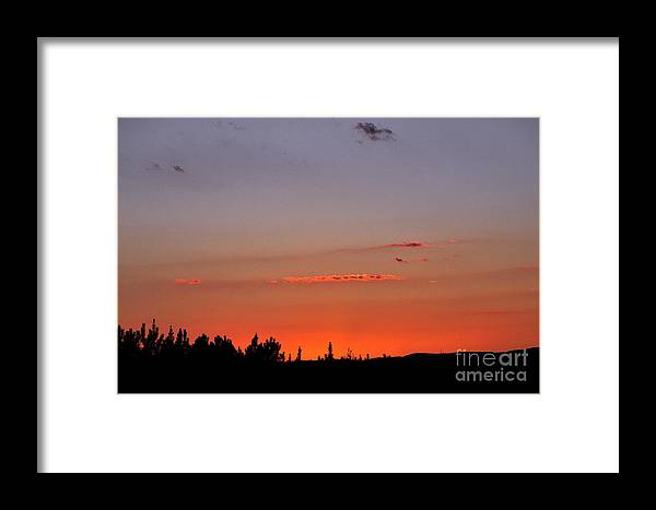 Sunset Framed Print featuring the photograph Late Evening by Stuart Mcdaniel