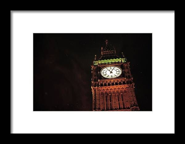 London Framed Print featuring the photograph Late Night London by La Dolce Vita