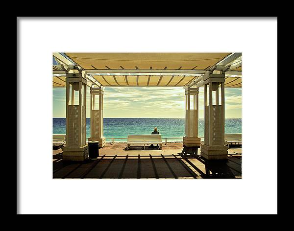Iwim Framed Print featuring the photograph Le Ma?diterrana?e by Wim Schuurmans