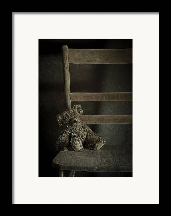 Bear Framed Print featuring the photograph Left Behind by Amy Weiss