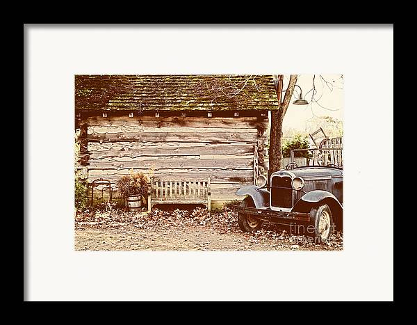 Old Buildings Framed Print featuring the photograph Leiper's Fork by Jeff Holbrook