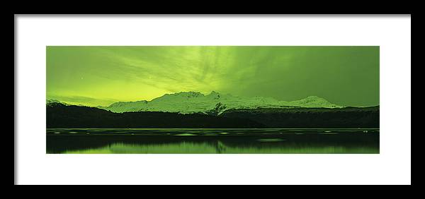 Aurora Framed Print featuring the photograph Lemon Lime by Ted Raynor