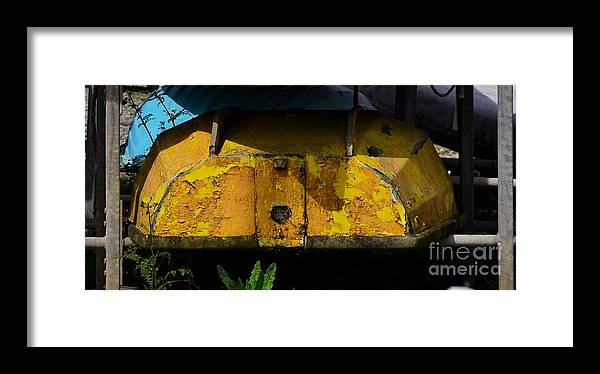 Boats Framed Print featuring the photograph Lemon Peel by Rene Triay Photography