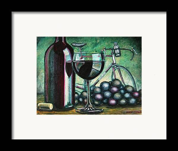 Still Life Framed Print featuring the painting L'eroica Still Life by Mark Howard Jones