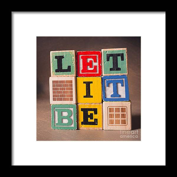 Let It Be Framed Print featuring the photograph Let It Be by Art Whitton