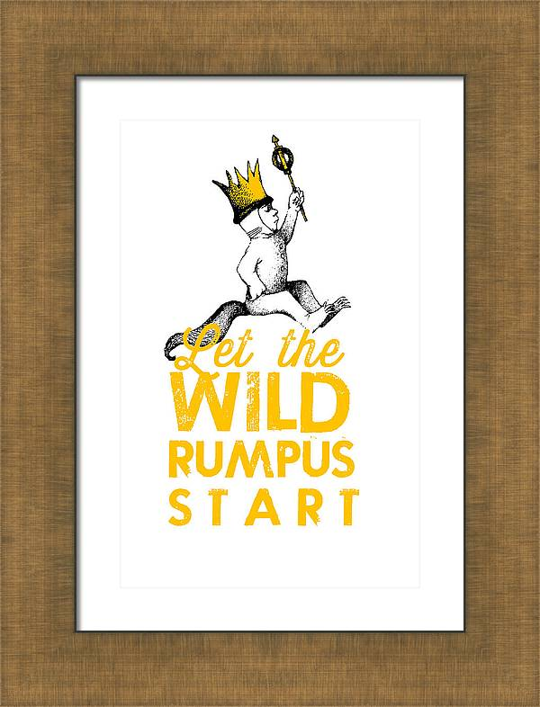 Let the Wild Rumpus Start by Kenneth Wilkins