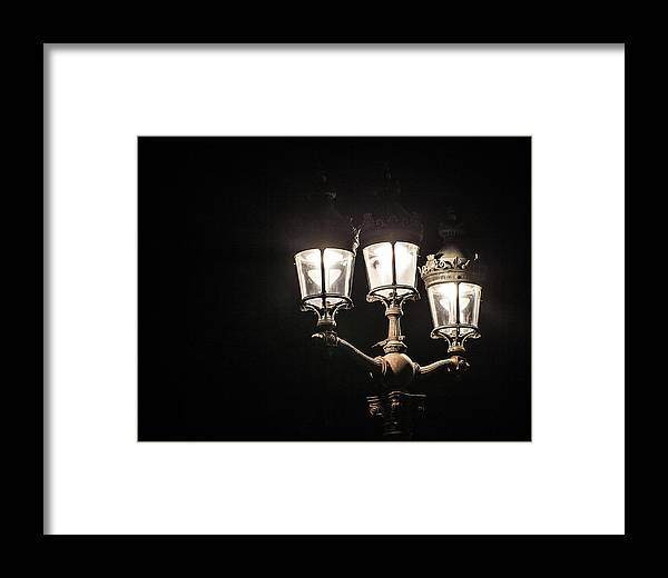 Bokeh Framed Print featuring the photograph Let There Be Light by YAWAT DJAMEN William