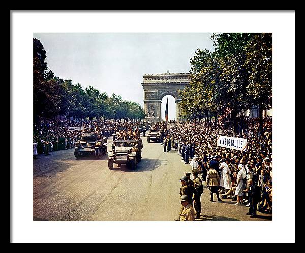 Liberation of Paris in 1944 by Mountain Dreams