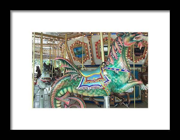 Dragon Framed Print featuring the photograph Liberty Dragon by Barbara McDevitt