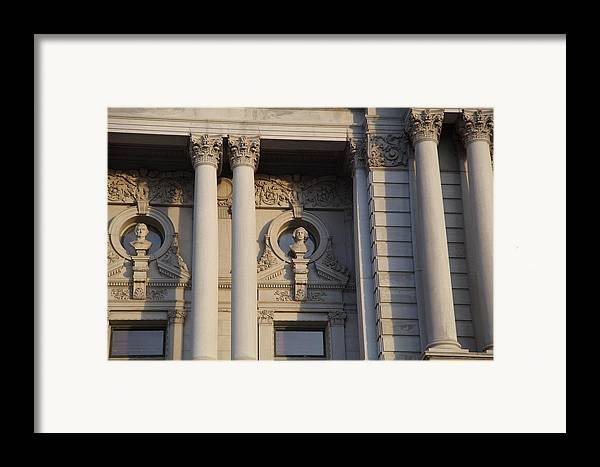 Washington Framed Print featuring the photograph Library Of Congress - Washington Dc - 011326 by DC Photographer