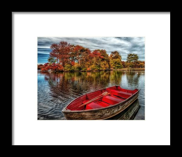 Autumn Framed Print featuring the photograph Life Is But A Dream by Linda Karlin