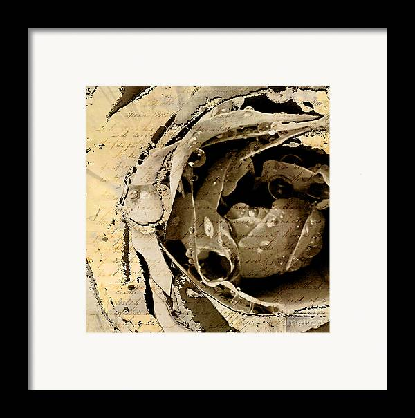 Framed Print featuring the mixed media Life Vi by Yanni Theodorou