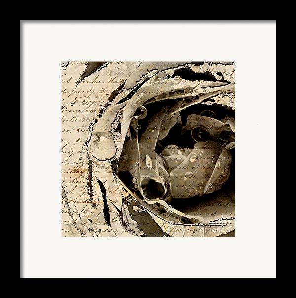 Framed Print featuring the mixed media Life Vii by Yanni Theodorou