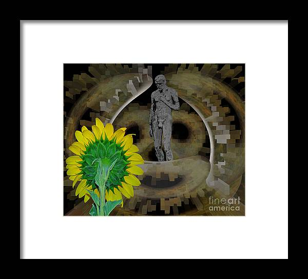 Framed Print featuring the photograph Life's Waiting And I'm Hesitating by Pierre Dumas
