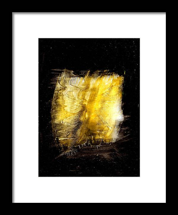 Framed Print featuring the painting Light Coming Through by Kongtrul Jigme Namgyel