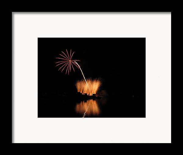 Garrison Cove Framed Print featuring the photograph Light Flower by Donnie Freeman