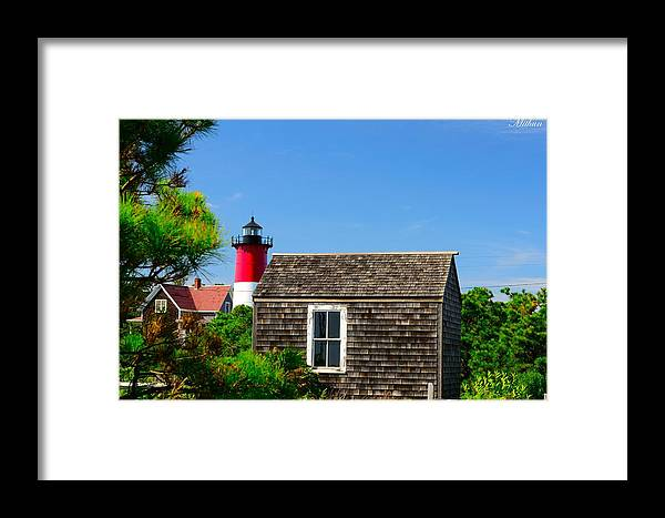 Framed Print featuring the photograph Light House by Mithun Das
