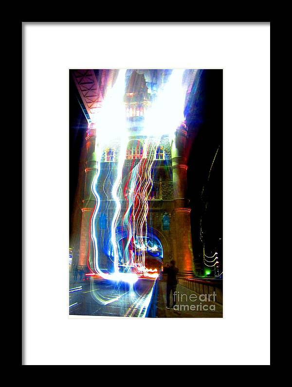 London Framed Print featuring the photograph Light Play On Tower Bridge by C Lythgo