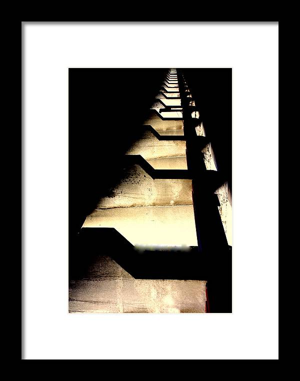 Architecture Framed Print featuring the photograph Light The Way by Marcia Lee Jones
