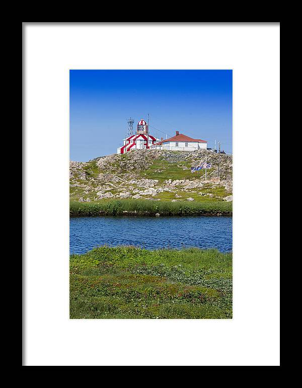 Lighthouse Framed Print featuring the photograph Lighthouse by Crystal Fudge