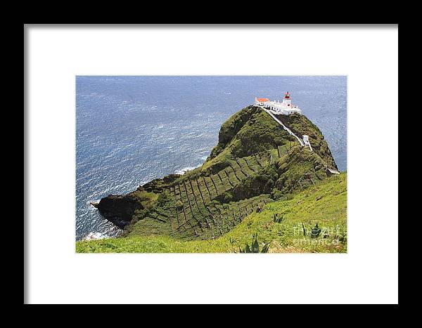 Lighthouse Framed Print featuring the photograph Lighthouse by David Van der Merwe