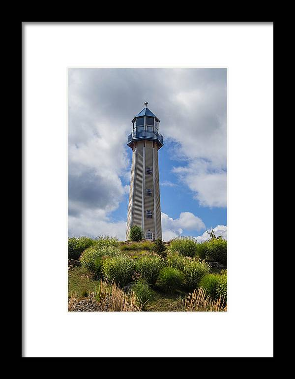 Lighthouse Framed Print featuring the photograph Lighthouse Island II by Anthony Thomas