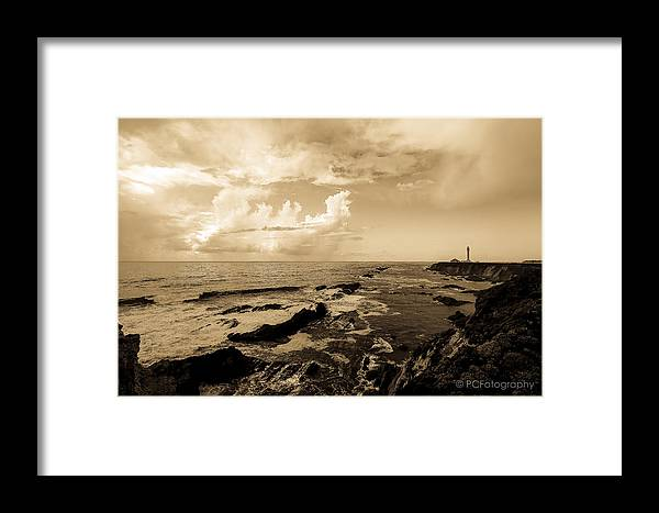 Lighthouse Framed Print featuring the photograph Lighthouse Of Old by Preston Fiorletta