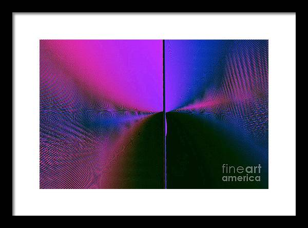 Light Framed Print featuring the digital art Light's Triumph Over Darkness by JCYoung MacroXscape