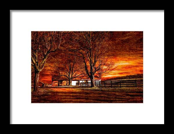 Farm Framed Print featuring the photograph Limbo II by Steve Harrington