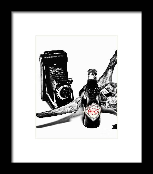Limited Edition Bottles Framed Print featuring the photograph Limited Edition Coke - No.008 by Joe Finney