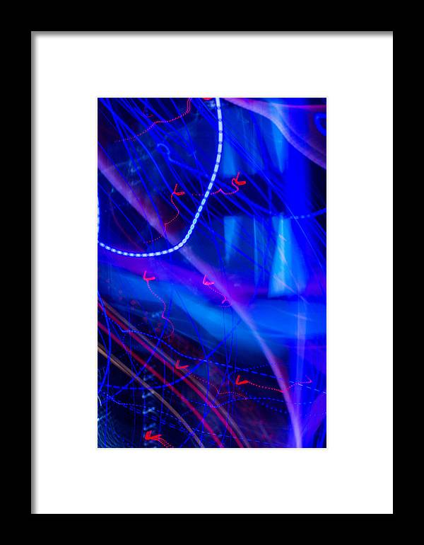 Oklahoma Framed Print featuring the photograph Limo Squiggles by Nathan Hillis