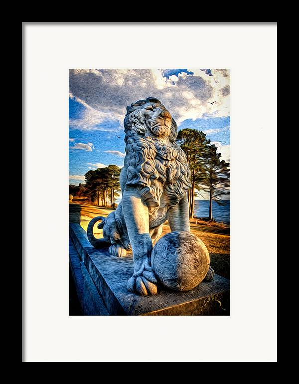 Bridges Framed Print featuring the photograph Lion's Bridge by Williams-Cairns Photography LLC