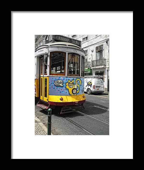 Lisbon Framed Print featuring the photograph Lisboa by Joachim G Pinkawa