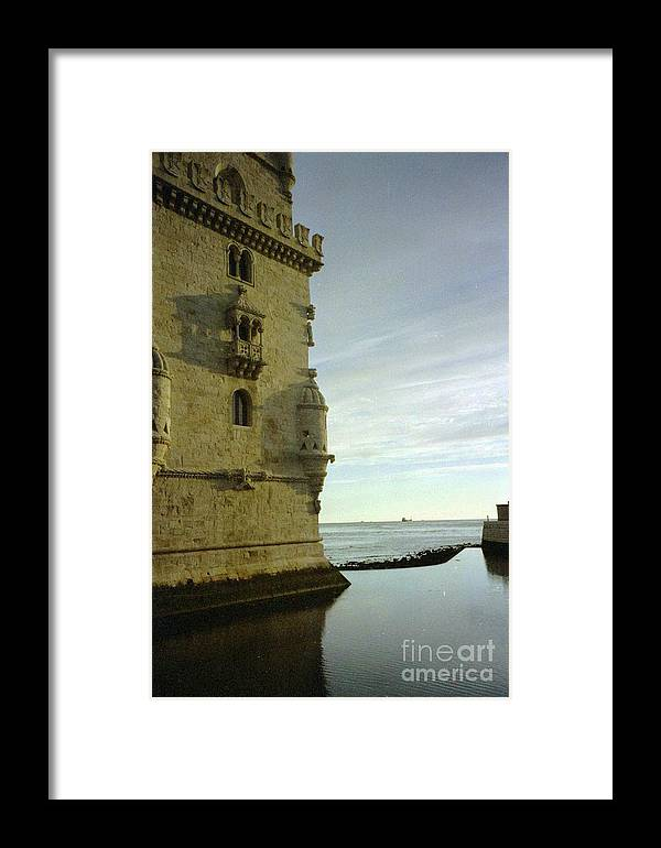Portugal Framed Print featuring the photograph Lisbon by Ted Pollard