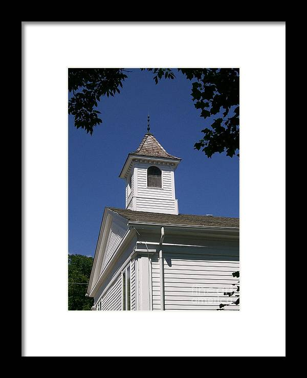 Little Framed Print featuring the photograph Listen For The Bell by Laurie Eve Loftin